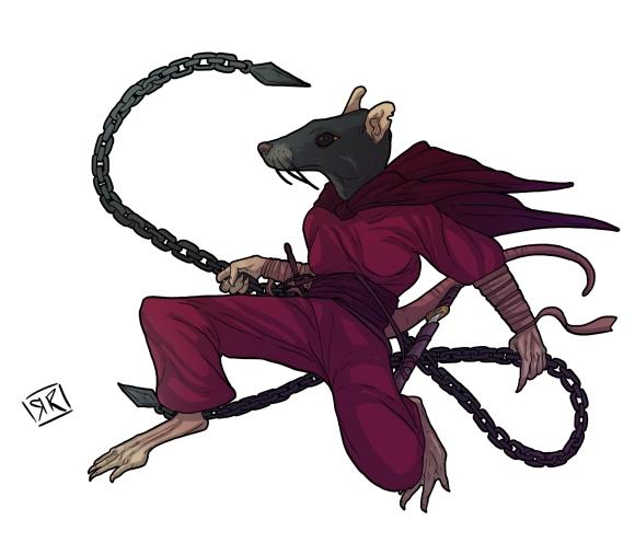 ratfolk ninja color